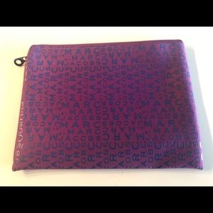 Marc by Marc Jacobs Purple Computer Pouch